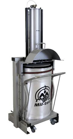 Mil-tek XP200S Stainless Steel Waste Compactor